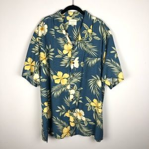 Trader Bay Washable Silk Tropical Shirt